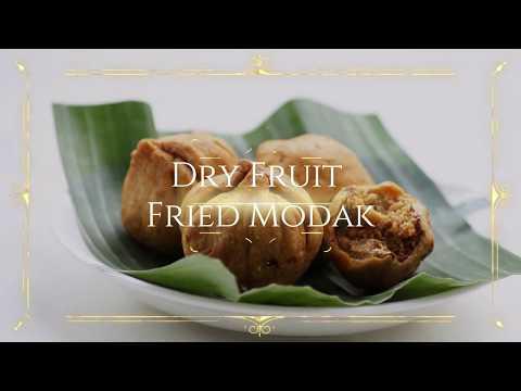 Dry Fruit Fried Modak Recipe - Ganesh Chaturthi Special Recipes
