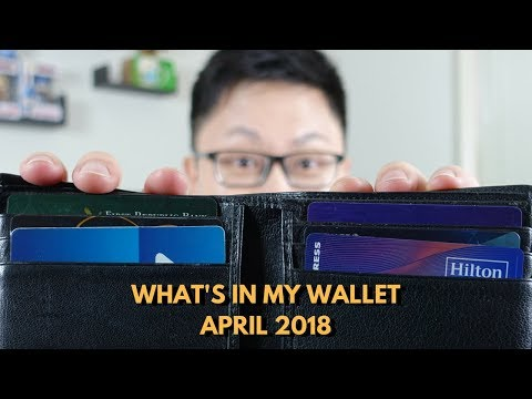 What's in My Wallet? April 2018 Edition
