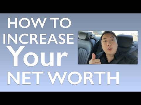 How to Increase Your Networth