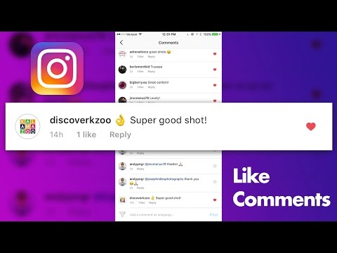 How to Like Comments on Instagram