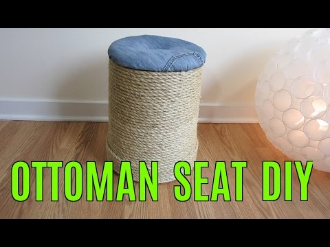 HOW TO MAKE OTTOMAN SEAT DIY