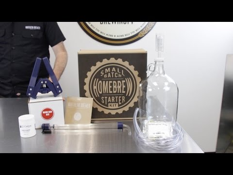 Small Batch Homebrewing Starter Kit