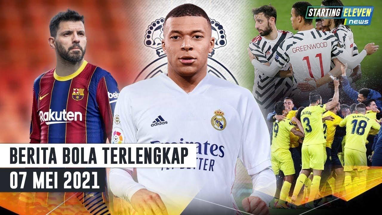 Barcelona Negosiasi Ke Aguero? 🤔 Mbappe Semakin Dekat ke Madrid?🤔MU Tantang Villareal di Final UEL 🥳