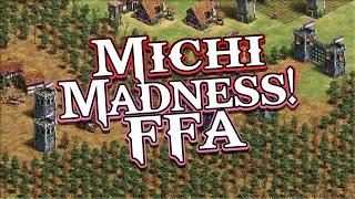 Michi Madness! AoE2 FFA!