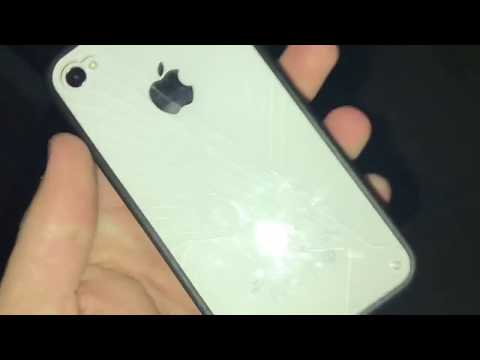 iPhone 4S drop test in basic case