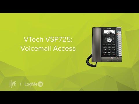 VTech VSP725: Voicemail Access