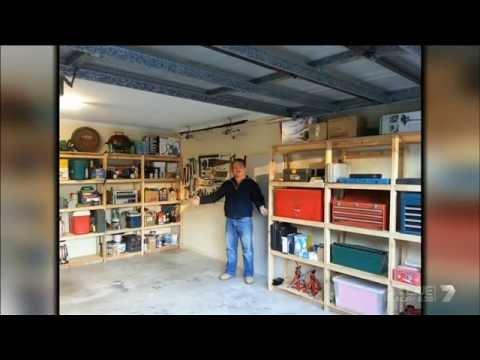 Mark Nel's Garage Shelves