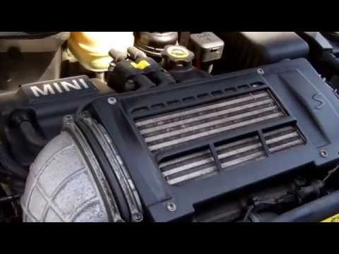 How to change the drive belt on BMW Mini Cooper S