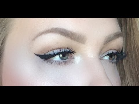 How To: Winged Liner For Hooded Lids and Downturned Eyes
