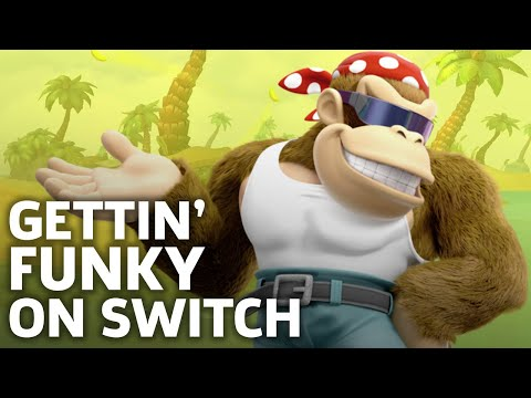 Funky Kong In Action - 9 Minutes of Nintendo Switch Gameplay