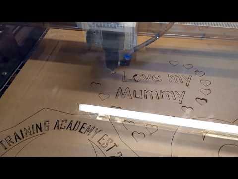 homemade c02 laser cutter