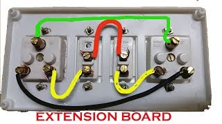 How To Make Electric Switch Board Lighting