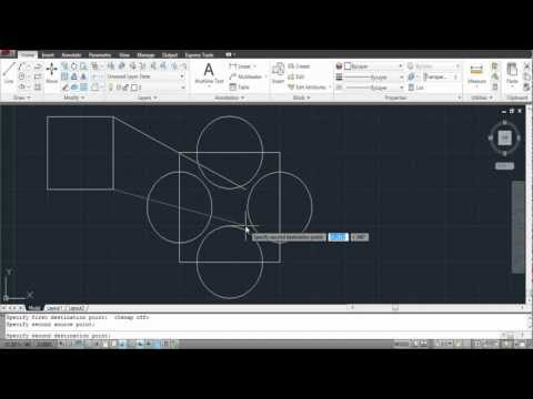 How to Align in AutoCAD