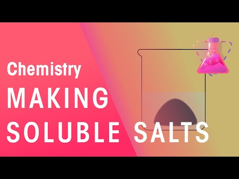 Making Soluble Salts | Chemistry for All | The Fuse School