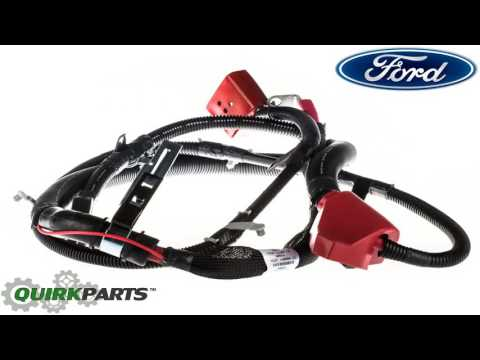 1992 1997 Ford F250 F350 7.3L Diesel Negative Battery Cable Left Driver Sid