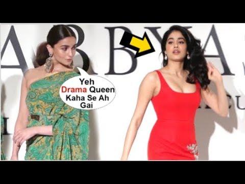 Xxx Mp4 Alia Bhatt IGNORES Jhanvi Kapoor For Showing Attitude At Sabyasachi Label 20 Years Celebration 3gp Sex