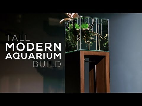 Modern Aquarium Build - DIY Aquarium Stand Design Ideas