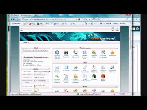36 How to Add Domains to your Webhost Using cPanel