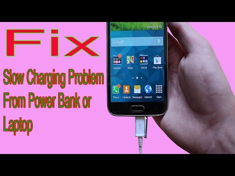Fix Slow Charging vs Fast Charging From Power Bank Or Laptop in Android