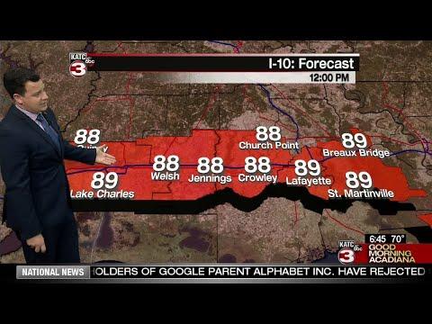Daniel's Weather Forecast 6/7/18
