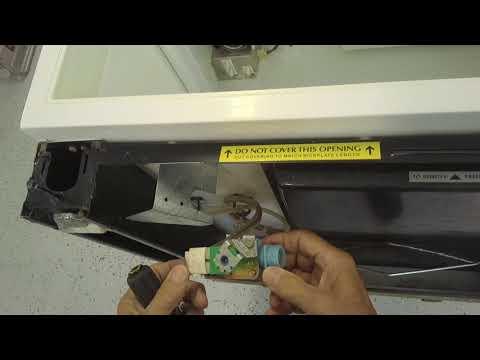 Sub-Zero Model 511 Water Valve Replacement