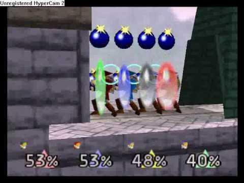 Super Smash Bros. - Black Hole Glitch