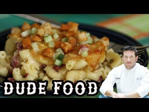 Reuben Sandwich + Homemade Mac 'n Cheese = Dude Food