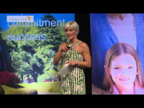 Natalie Valenti Forever Living Products - No. 1 Business in Scotland