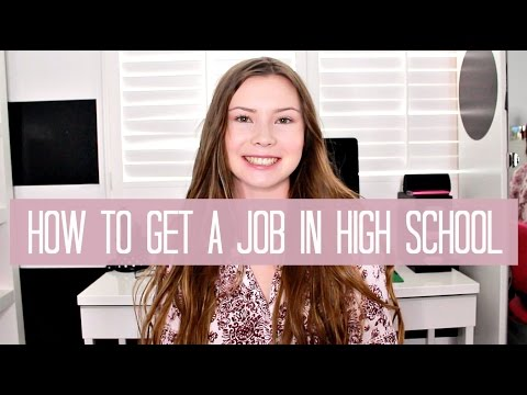 How to Get a Job as a Teen | Tips + My Experience