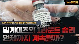 [칼슘박사 숀리TV E446] FDA가 렘데시비르를 코로나 치료약으로 긴급 승인 한것을 통해 얻어진 빌게이츠의 1라운드 승리는 얼마나 지속될까?
