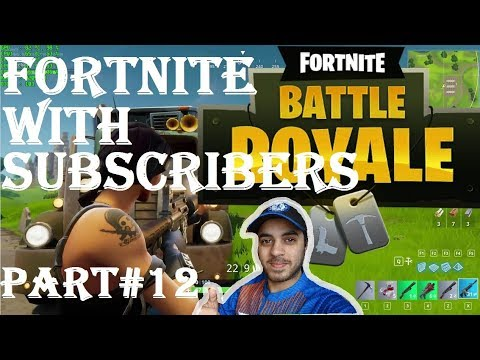 FORTNITE WITH SUBSCRIBERS HINDI part 12 Ps4