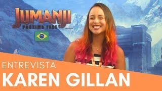 Entrevista com Karen Gillan de Jumaji - Próxima Fase