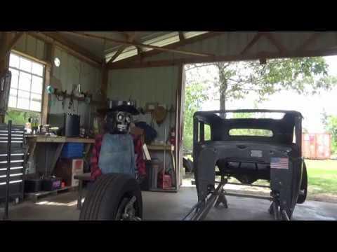 31 Chevy Rat Rod Build - Door Hinges