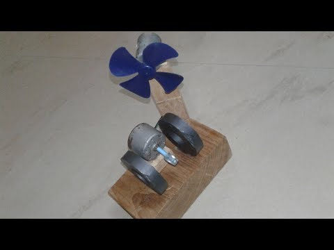 How to Make Simple Free Energy by using DC Motor