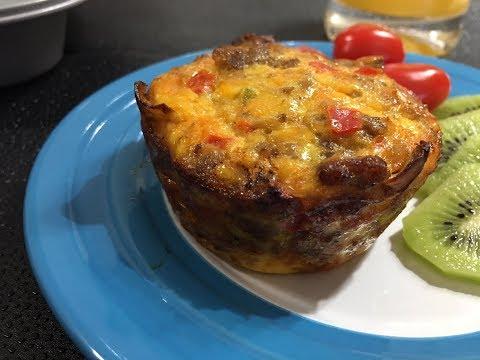 Breakfast Sausage Muffin Cups Recipe - A Delicious - Episode #198
