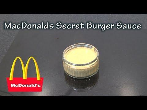 McDonalds Secret Burger Sauce Recipe - The BBQ Chef