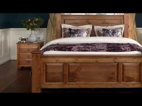 Handmade Wooden Beds Frame Designs