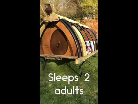 Landpod- The NEW innovative Glamping pod