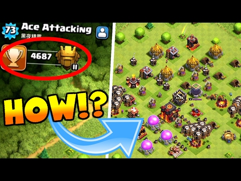 Clash Of Clans | ENGINEERED TH10 IN TITAN LEAGUE | HOW IS THIS POSSIBLE? |