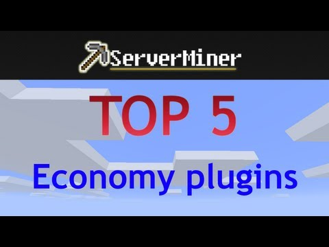 Top 5 economy plugins for your bukkit server