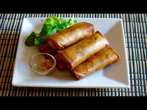 Harumaki (Egg Roll) Recipe - Japanese Cooking 101