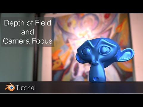 Blender Tutorial: How to Focus The Camera on an Object