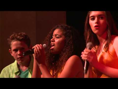 Teens Sing for Santa Barbara
