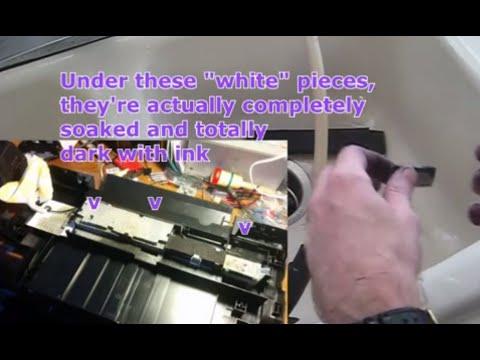 Inkjet Printer Waste Ink Cleaning, felt absorbing pads - Epson 1400