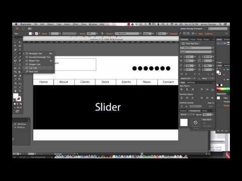 Quick Wireframes With Adobe Illustrator