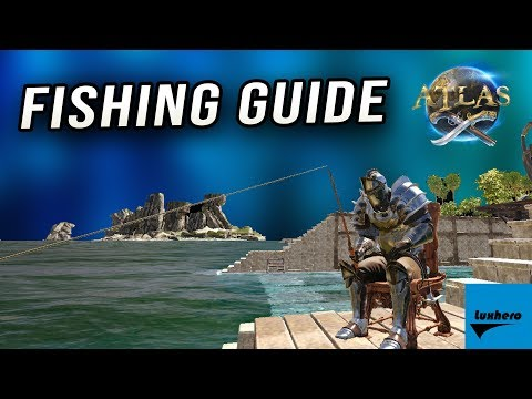 Atlas - How to Craft & Use Fishing Rod