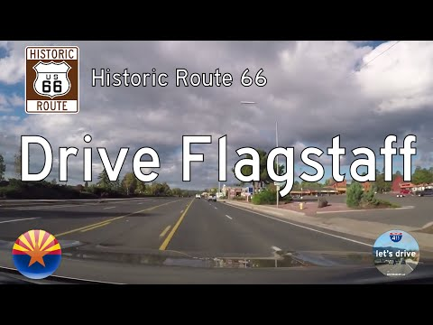Historic Route 66 - Flagstaff - Arizona | Drive America's Highways 🚙