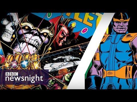 Thanos creator Jim Starlin on Marvel's Avengers: Infinity War - BBC Newsnight