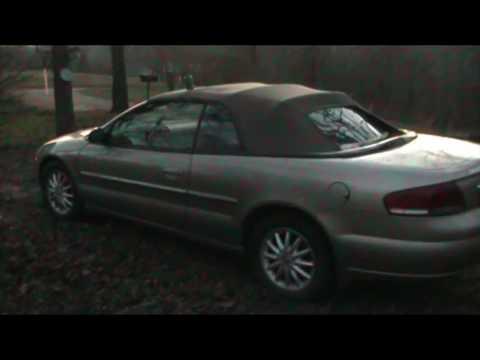 2001-2006 Chrysler - 02 Sebring Convertable - Battery Location