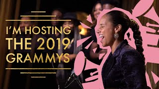 Download I'M HOSTING THE 2019 GRAMMYS (ALICIA KEYS) Video
